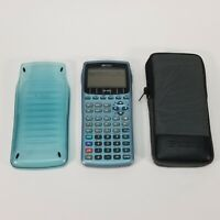 Hewlett Packard HP 49G Graphing Calculator w/Hard Cover and HP Soft Case Working