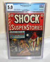 Shock SuspenStories #6 EC Comic CGC Universal Grade 5.0 Classic Bondage Cover 🔥