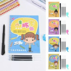 Early Learning Book Copybook Writing Book Beginner Stickers Magic Books