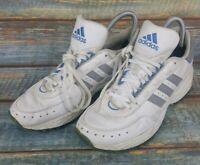 Ladies WomensAdidas 90s New York adiPRENE Trainers Navy Blue White UK Size 5