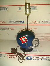 Vintage Denver Brocos Helmet Lamp - Pro Sports Marketing Inc. 1973 - WORKING