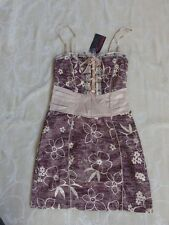 Promiscuos Brown Dress Women's Size 8 BNWT