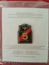 RARE Essendon 5 years membership lapel pin never been opened