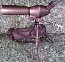 SPOTTING SCOPE w/ CASE and TRIPOD 20-60x 60mm telescope brand new bird hunting