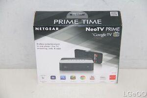 NetGear NeoTV PRIME Google TV **NEW IN BOX** GTV100-100NAS
