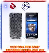 Custodia TPU CERCHI CLEAR per Sony ericsson Xperia X12 ARC