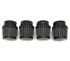 All Black 35mm Air Filter Pod - Set of 4 - Vintage Honda CB350F CB400F Four