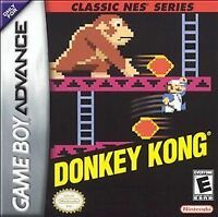 Donkey Kong Classic NES Series (Nintendo Game Boy Advance GBA Gameboy, 2004)