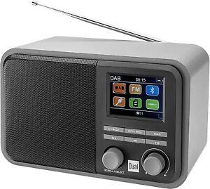 Dual DAB 51 - Digitalradio mit Akku Tischradio, DAB+ / UKW, MP3, USB / SD OVP