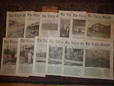 The Valley Gazette 1991 11 Issues Coaldale Jim Thorpe Pennsylvania History
