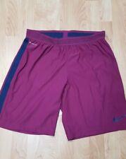 Nike Men's L Strike Aeroswift Soccer/Football 725872-665 Purple Shorts Nwts $75