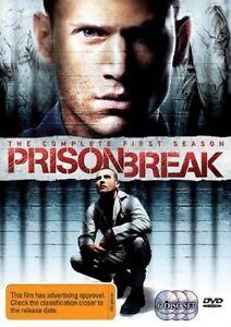 Prison Break : Season 1 (DVD, 2006, 6-Disc Set) Wentworth Miller, Stacy Keach R4