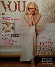 YOU MAGAZINE Kylie Minogue Mary Berry NEW