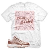 New Rose Gold T Shirt for Jordan Retro 11 XI Low Rose Gold Elemental Foamposite
