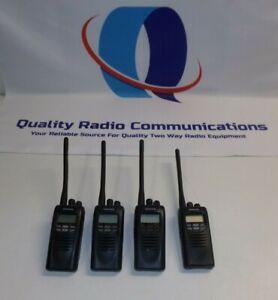 Lot of FOUR Kenwood NEXEDGE NX-200-K 136-174 MHz VHF Two Way Radio NX-200