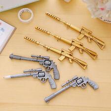 2Pcs Novelty Gun Pens Stationery Student Office Creative Ballpoint +Gel Pens LJ