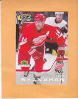 2002 UPPER DECK PLAYMAKERS BRENDAN SHANAHAN #BS-2002 DETROIT RED WINGS
