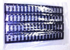 STS 223 556 AEG Picatinny Rubber Quad Rail Cover Ladder Set of 4 BLACK FAST SHIP