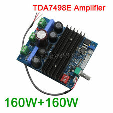 TDA7498E 160W+160W digital stereo amplifier board PBTL 220W mono channel 24v-36v