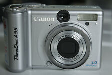 Canon  PowerShot A95 5.0 MP Digital Camera | Silver | UNTESTED