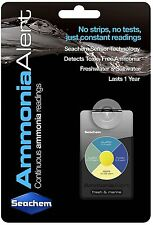 Seachem Ammonia Alert Aquarium Device Fresh or Salt NEW