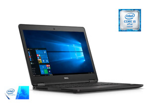 "Dell Latitude E7470 Laptop 14"" FHD Screen intel i5-6300U, 8GB RAM, 256GB SSD"