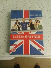 Little Britain - Series 1 And 2 (DVD, 2005, 4-Disc Set, Box Set)