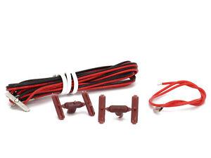 DeAgostini 038 - 6 teiliges Set Anschlusskabel mit Schienenverbindern Metall und