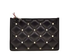 Valentino Garavani Candystud Quilted Clutch Bag New