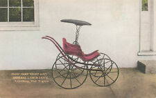 Lewisburg WV * General Lewis Hotel  Baby Buggy Carriage ca 1930s Greenbrier Co.