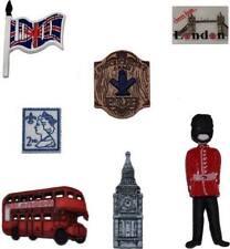 Dress it Up Buttons - Destination England