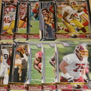 2016 REDSKINS 30 Card Lot w/ 2015 TOPPS Team Set 20 CURRENT Players (3) '16 RC