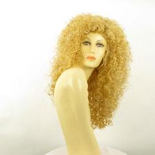 Parrucca donna lunga ricci biondo chiaro dorato LIONESS LG26