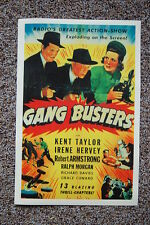 Gang Busters Lobby Card Movie Poster Kent Taylor