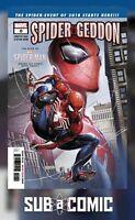 SPIDERGEDDON #0 (MARVEL 2018 1st Print) COMIC