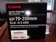 Canon EF 70-200mm f/2.8 L IS II USM Lens & Filter