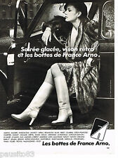 PUBLICITE ADVERTISING 055  1978  FRANCE ARNO   collection bottes 2