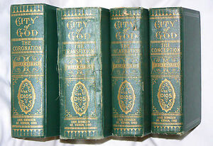 City of God - Mary of Agreda (17th C. Spanish text translated) HC - 4 Volumes