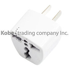 4 PCS Universal EU UK to US AC Power Plug Travel Adaptor Convertor.