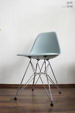 DSR EAMES Plastic Side Chair Eisgrau von 2019 unbenutzt