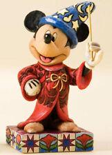 * New Jim Shore Disney Figurine Mickey Mouse Fantasia Sorcerer Statue Magician