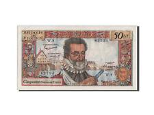 Billets, France, 50 Nouveaux Francs Henri IV 1959, 5.3.1959, Pick 143a #44497
