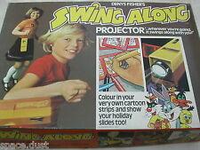 Swing Lungo VIDEOPROIETTORE-Denys Fisher - 1974-MAI USATE-PROIETTORE-giocattolo vintage