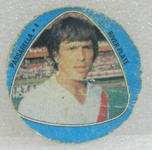 DANIEL PASSARELLA 1980 ORIGINAL FOOTBALL SOCCER CARD N°4