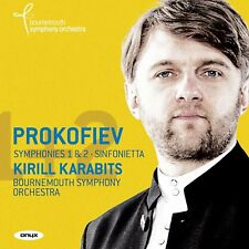 Prokofiev: Symphonies 1 Op.25 Classical & 2 Op.40 Bournemouth Symphony Orchestra