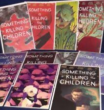 Something is Killing the Children 1 2 3 4 5 6 & 8 | 11 book lot | Boom!Studios