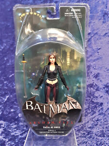 DC Direct Batman Arkham City Series 4 Talia Al Ghul figure MOC