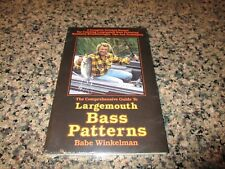 The Comprehensive Guide to Largemouth Bass Patterns by Babe Winkelman-New