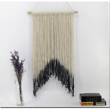 Handmade Macrame Wall Hanging Tapestry  Blue Macrame Tapestries BOHO Chic Decor