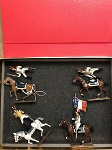 CBG Mignot: Boxed Set - French Cuirassiers, c1815. Post War c1970